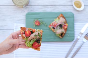 Hardal Soslu Ton Pizza