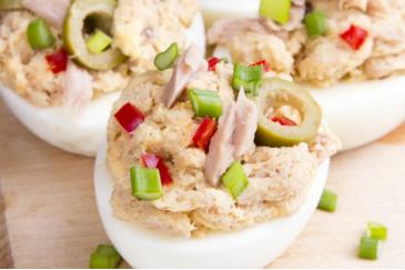 Ton Balıklı Dev Yumurtalar
