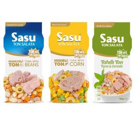 Mısırlı Ton Salata 2x160 g + Fasulyeli Ton Salata 2x160 g + Tahıllı Ton Salata 2x160 g